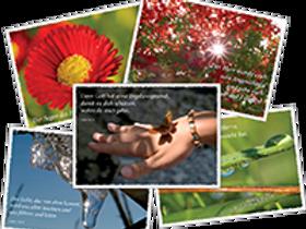 Kartenset mit Bibelsprüchen