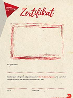 Ehe-Vorbereitungskurs Zertifikat
