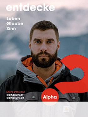 Alpha Poster A2 - Download