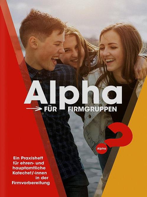 Alpha für Firmgruppen