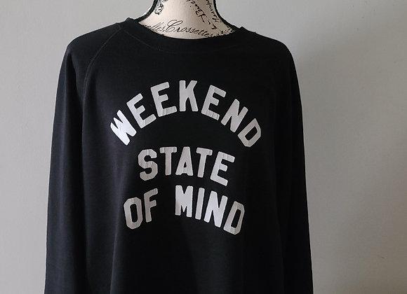 Sweatshirt with Print Design