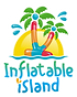 inflatable Island logo with white outlin