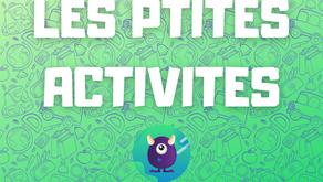 Les ptites activités de Léa J25