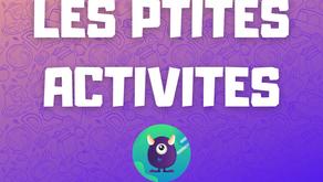 Les ptites activités de Léa J13