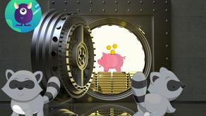Deux ratons laveurs pénètrent dans une banque en Californie