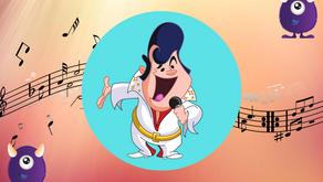 Série LES PERSONNAGES CÉLÈBRES N°1 : Elvis Presley