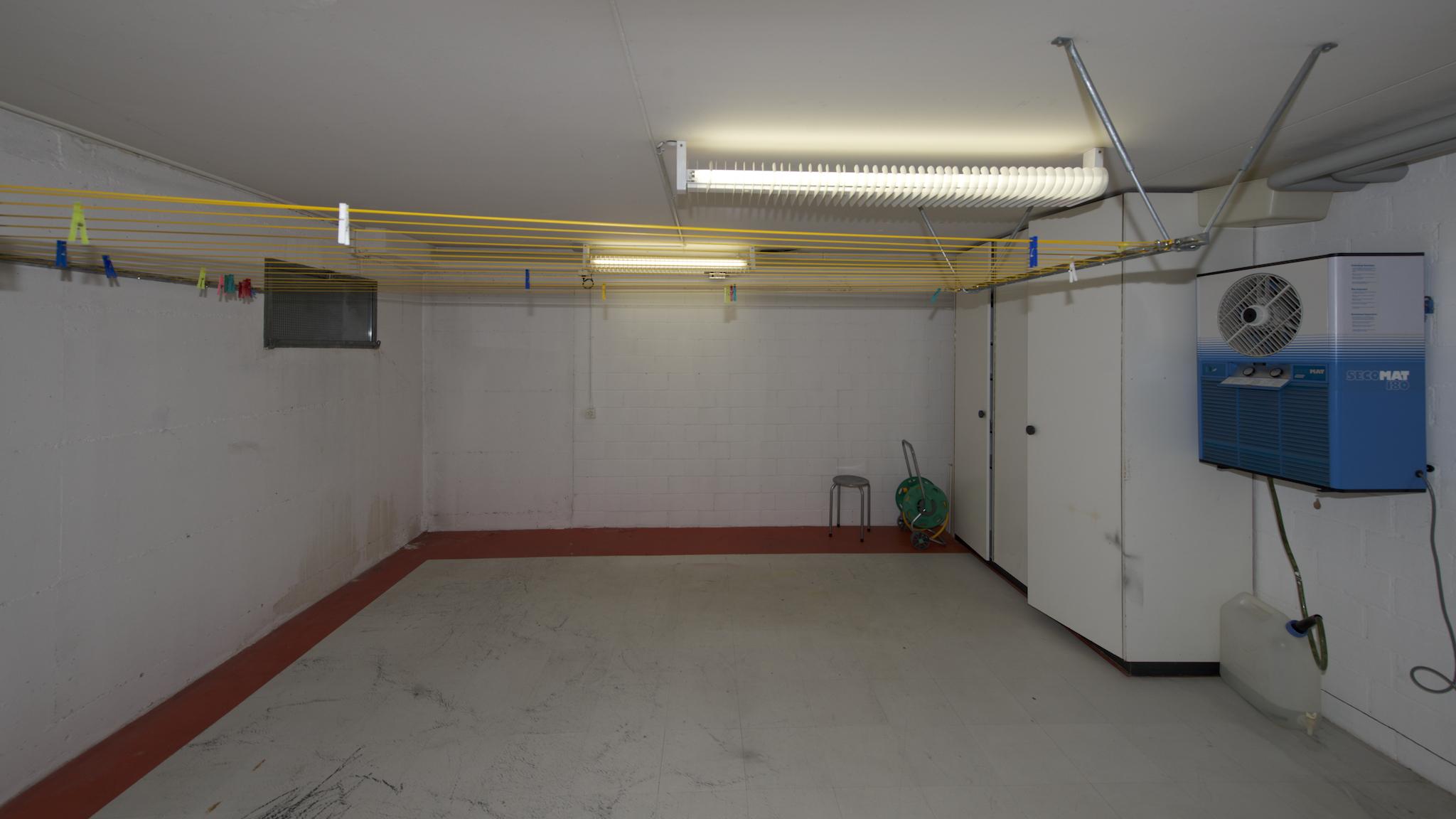 Kellerraum mit Secomat