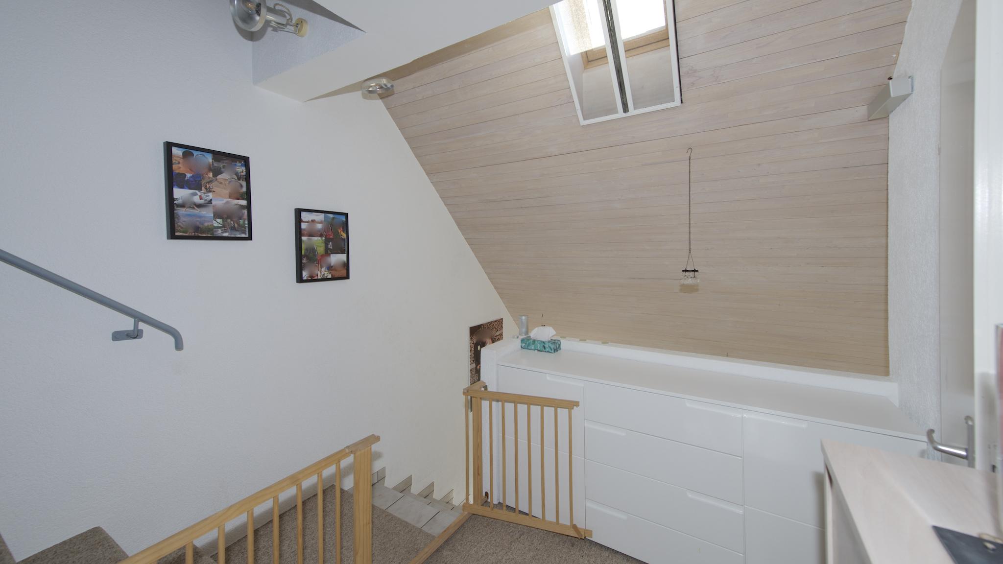 Vorplatz im Obergeschoss