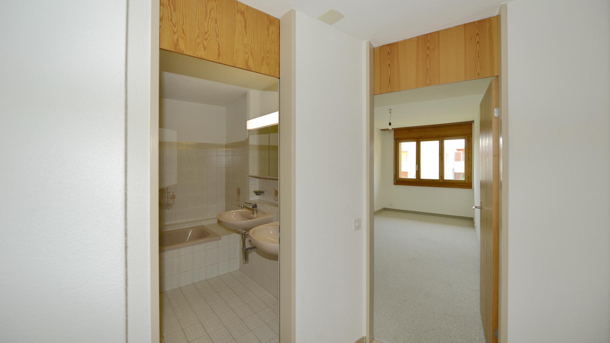 WC/Bad und Zimmer