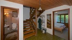 Treppenhaus im Sockelgeschoss