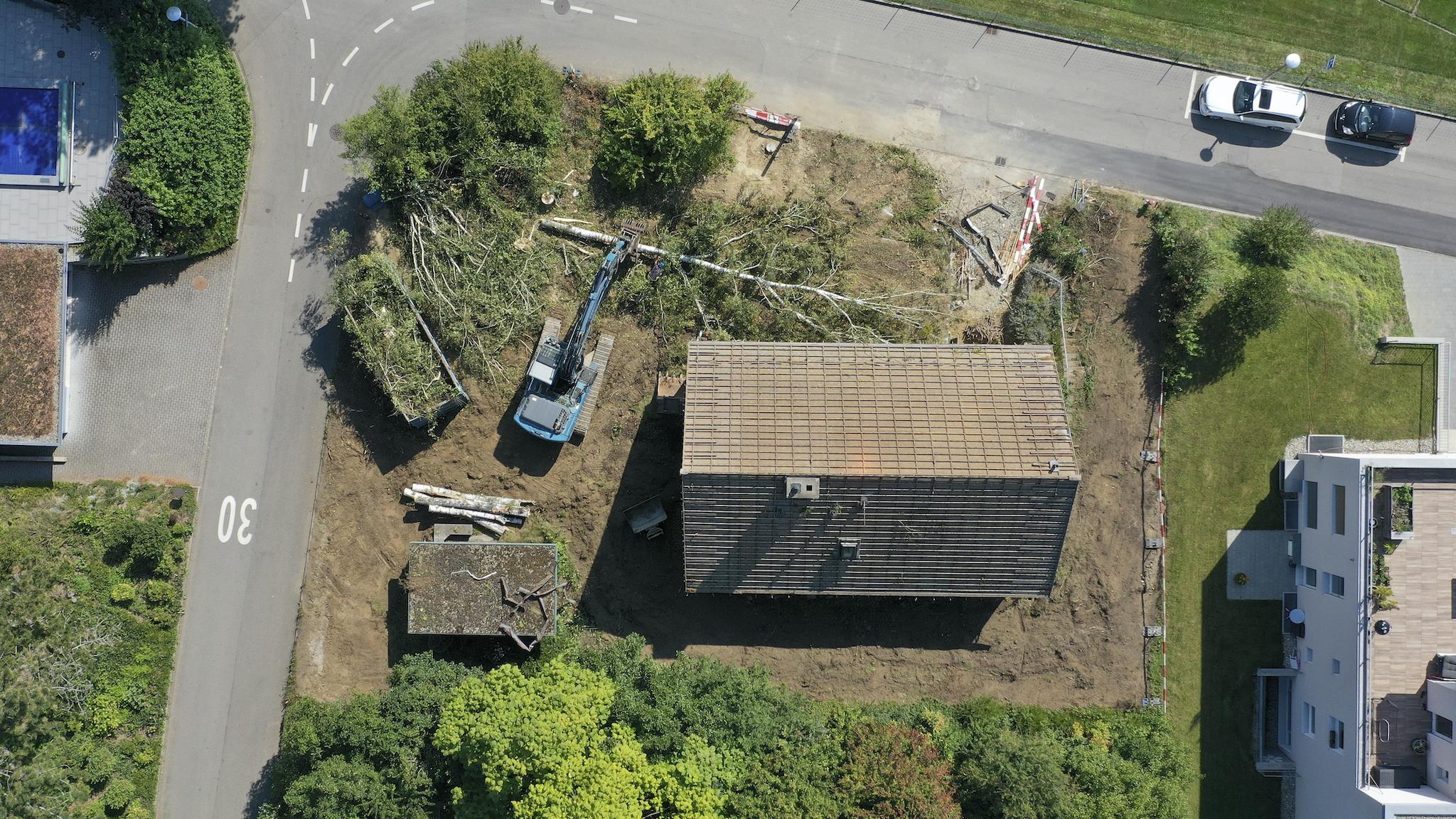 """""""Google-View"""" vom Bauplatz"""