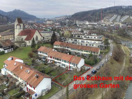 Kleines, charmantes 4 ½-Zimmer Reiheneckhaus an der Töss (Tössuferweg 17, 8406 Winterthur)