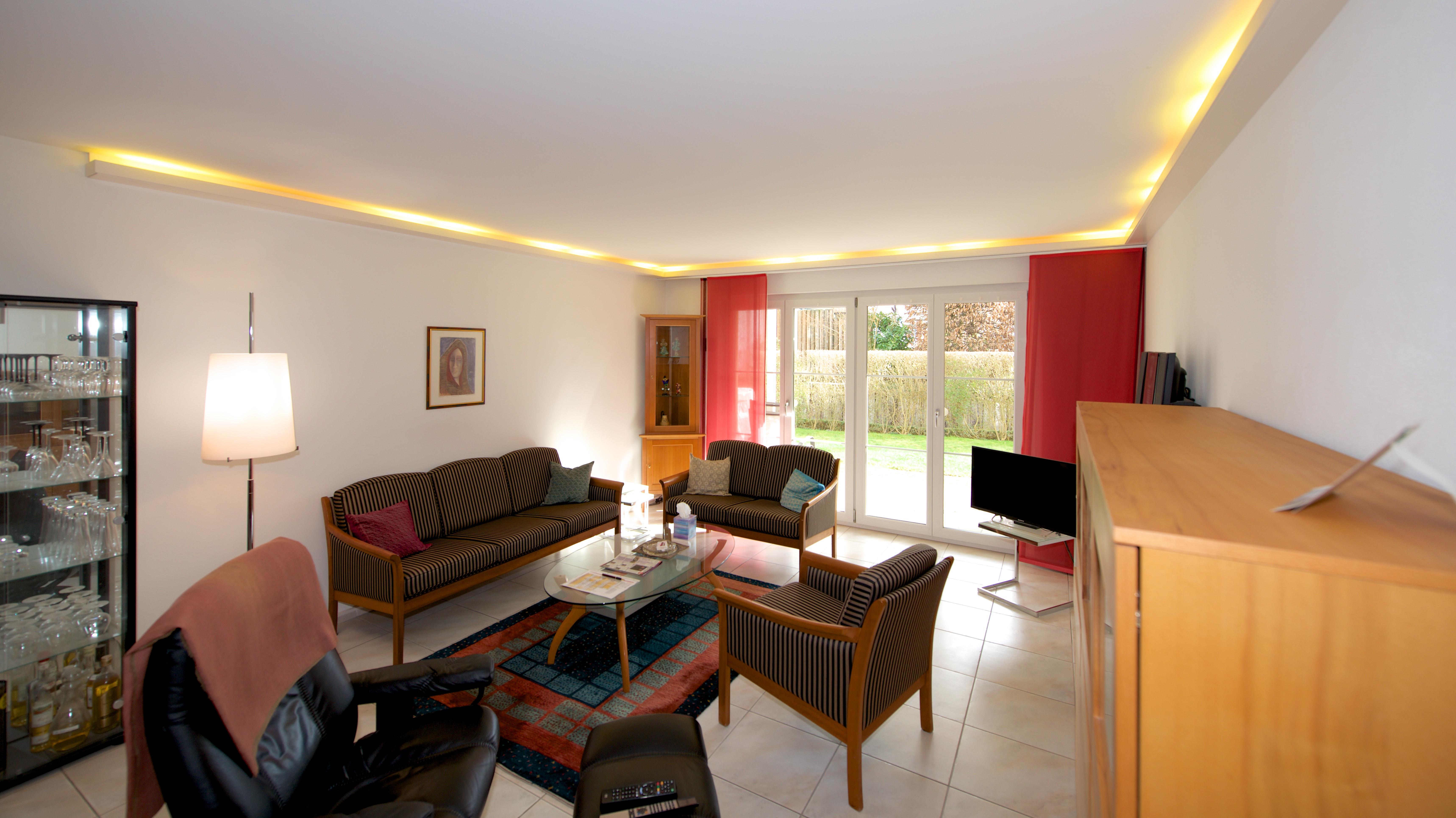 Wohnzimmer mit dem Sitzplatz