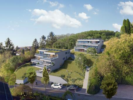 6 Terrassenwohnungen mit Bergsicht
