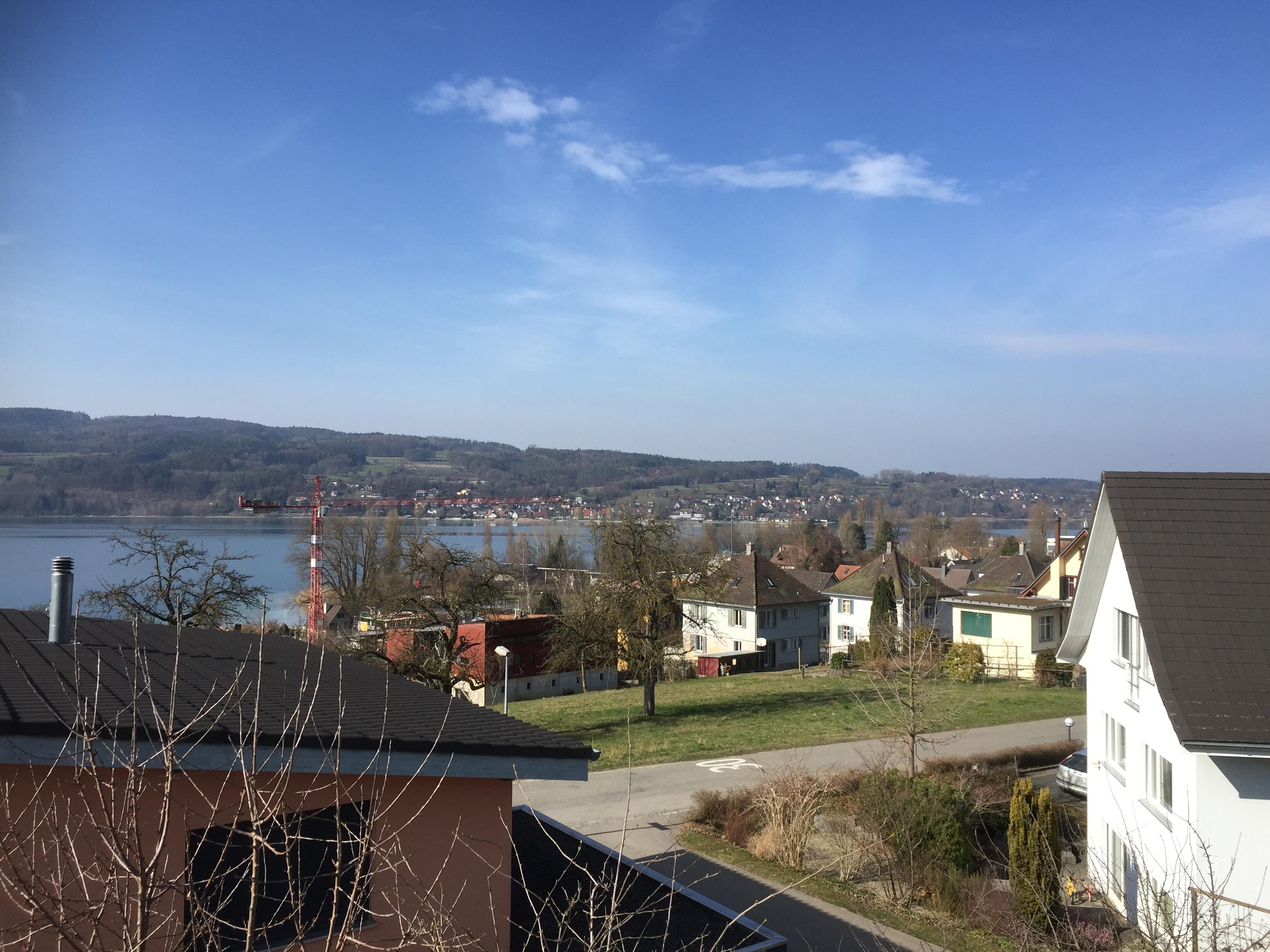 Aussicht vom Dach, Haus C