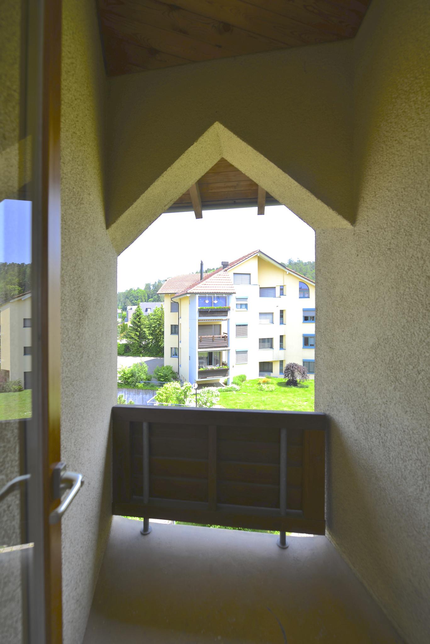 Kleiner Balkon gegen Osten