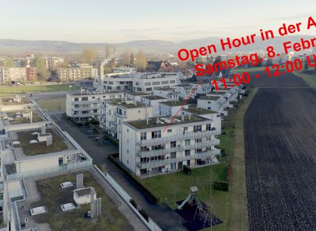 Open Hour in der Attika, Samstag, 8. Februar, 11:00 - 12:00 Uhr