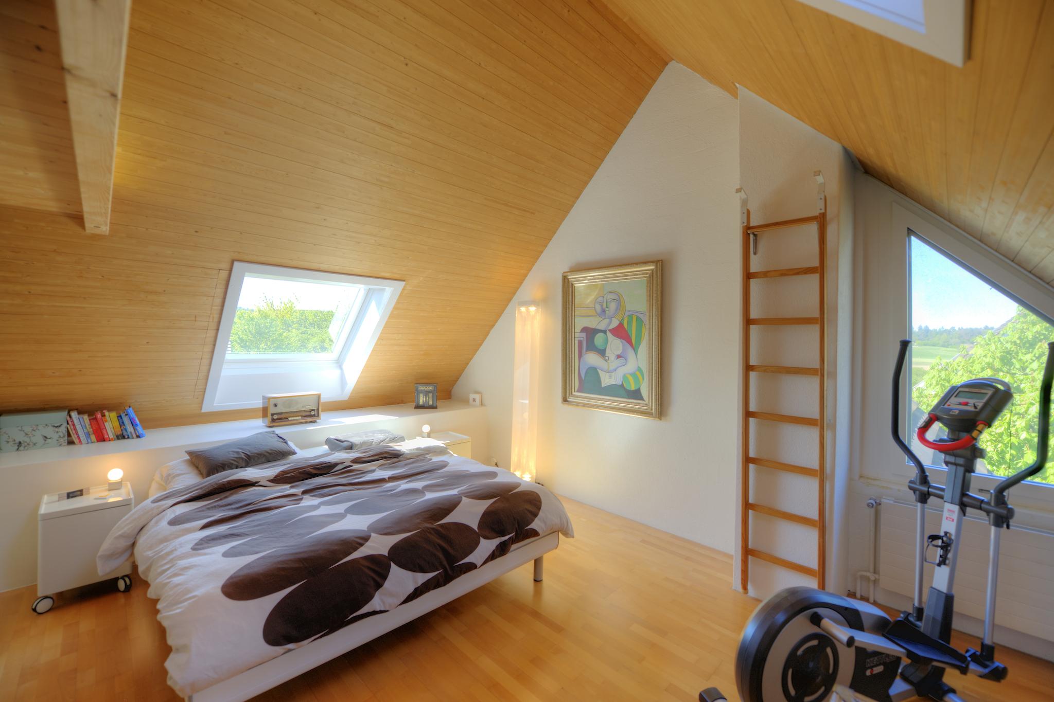 Dachzimmer ...