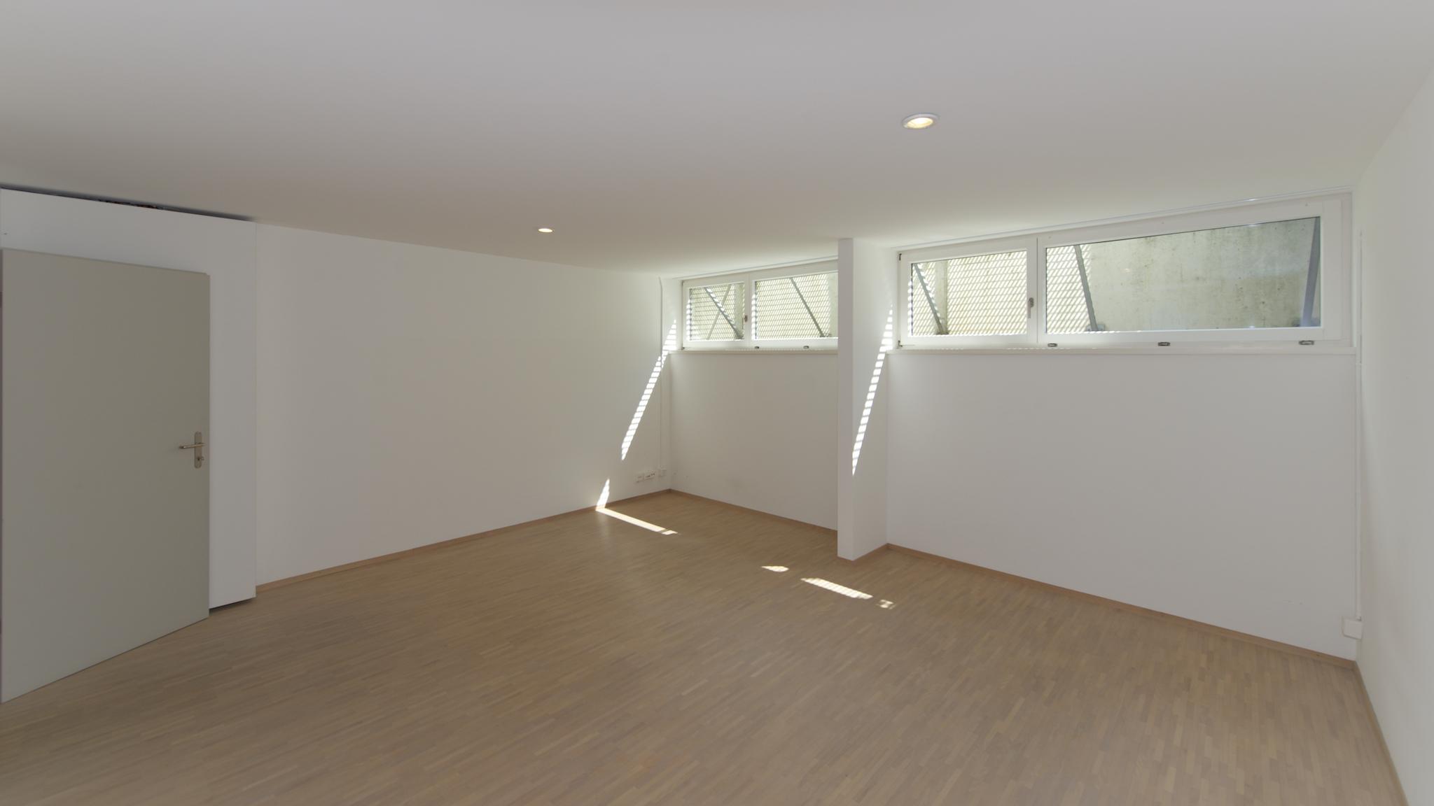 Ausgebautes Zimmer im Untergeschoss