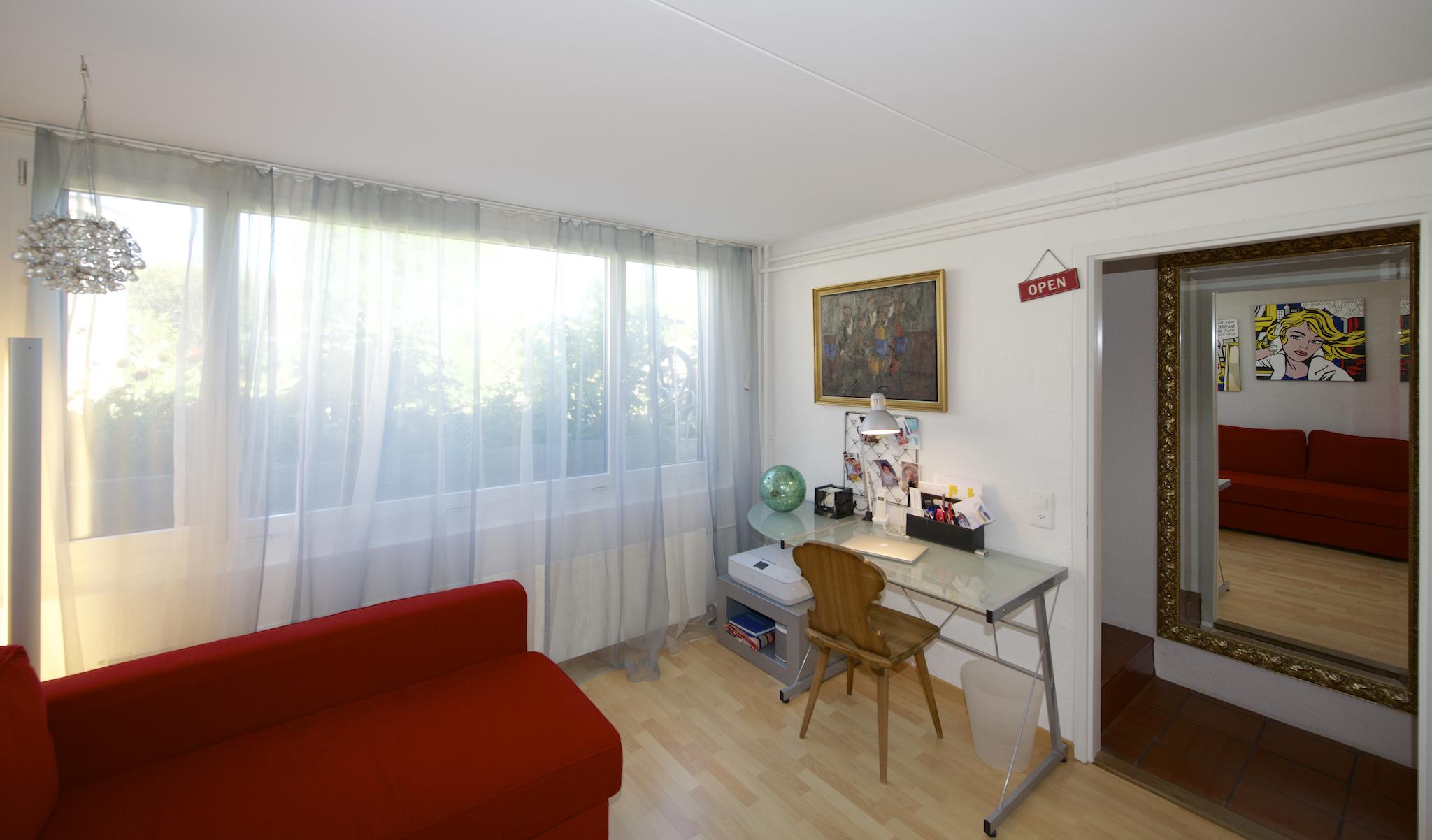 """Gästezimmer im """"Untergeschoss"""""""