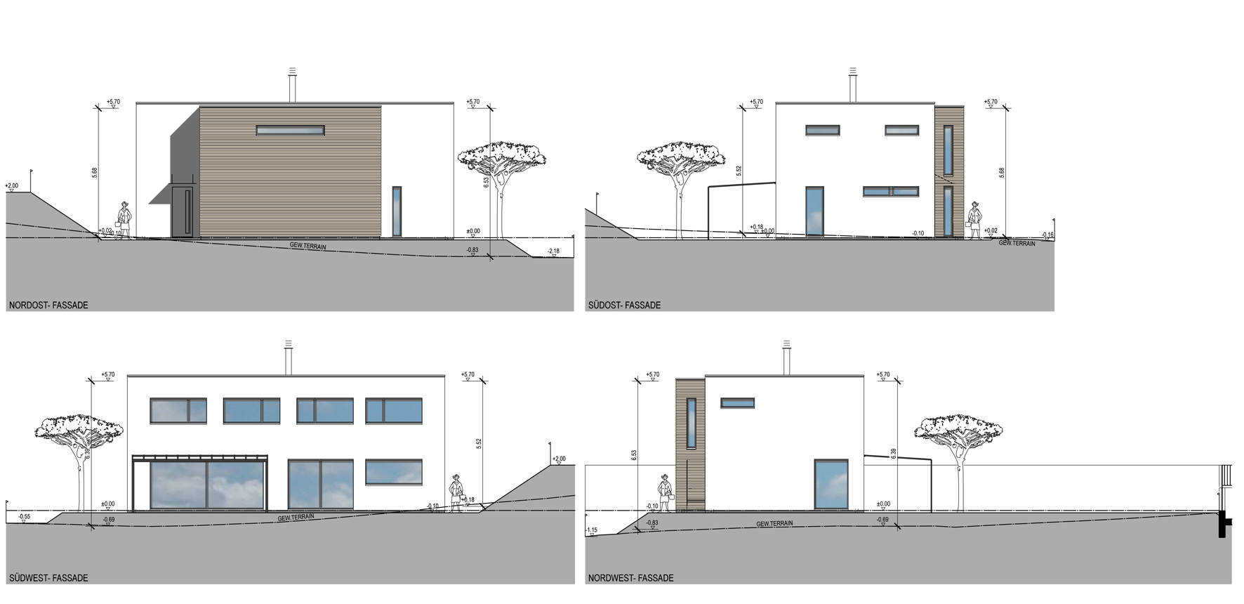 Fassade Haus C