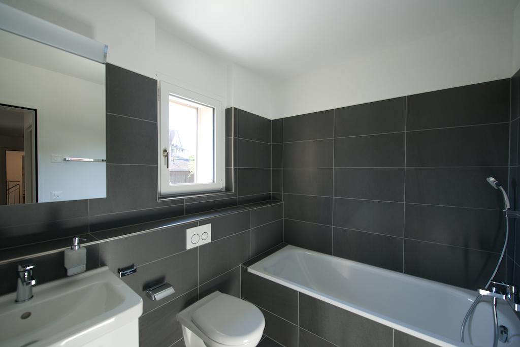 Badezimmer im Wohngeschoss