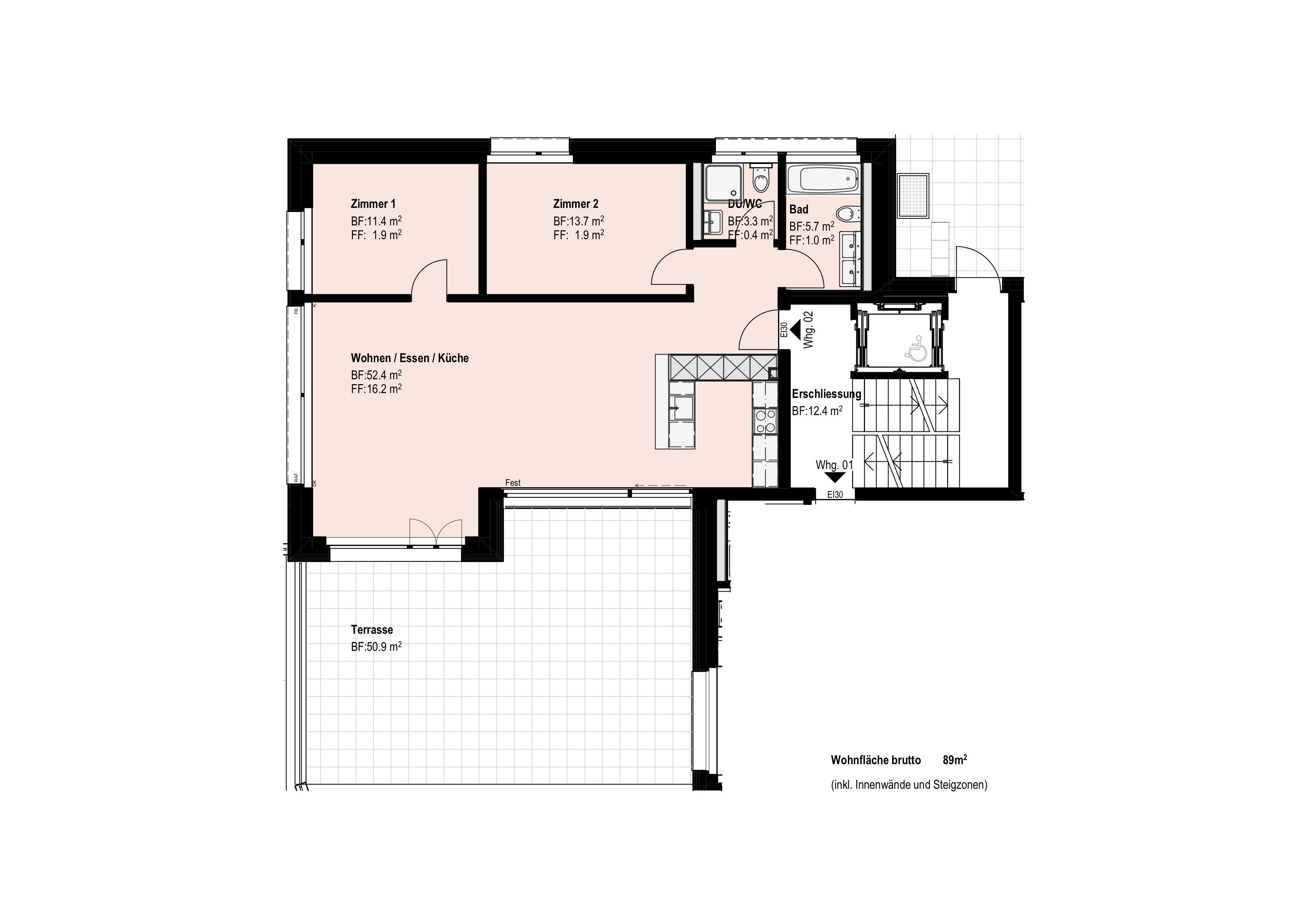 Erdgeschoss-Wohnung 02