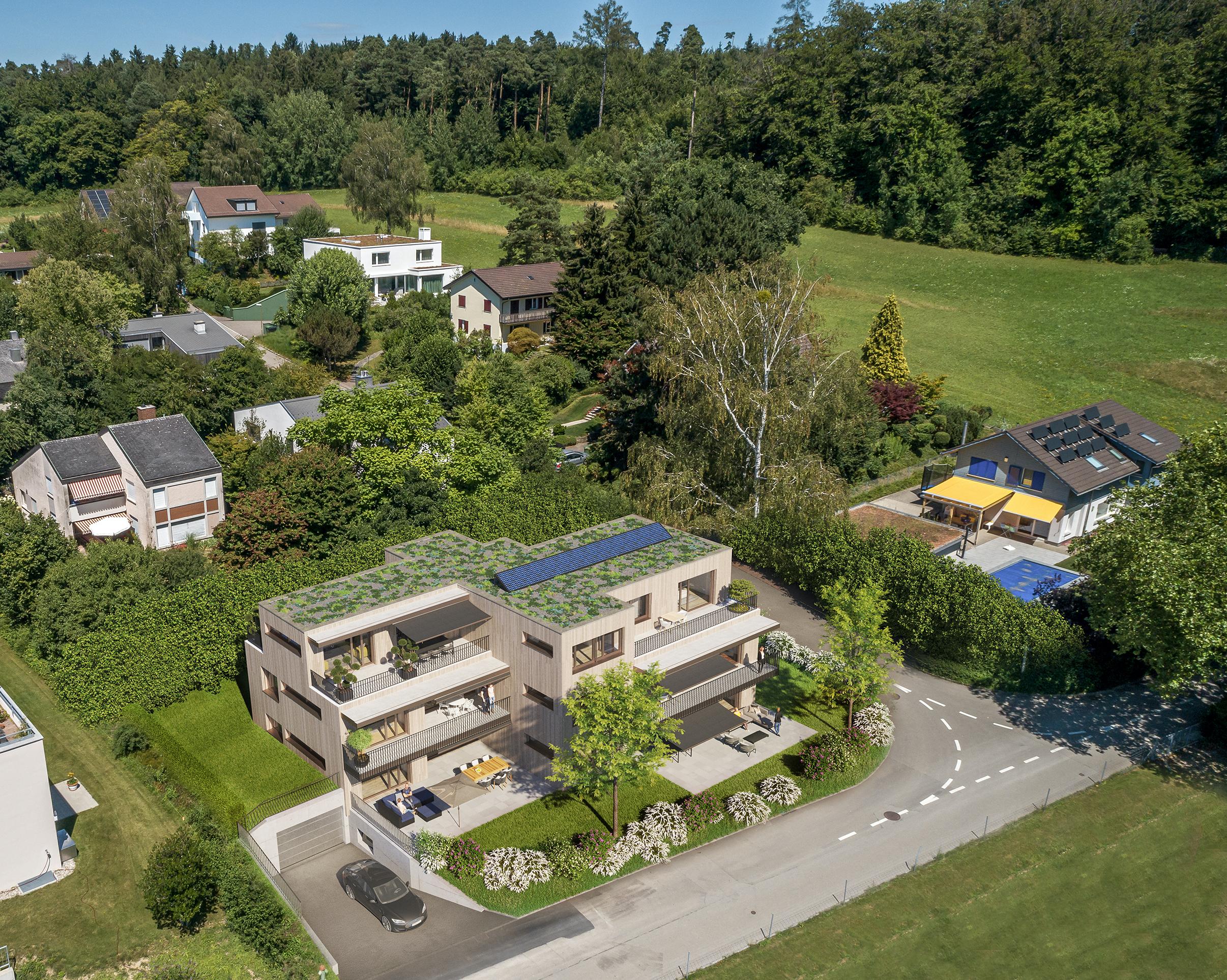Das neue Mehrfamilienhaus im Quartier