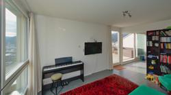 """""""TV-Zimmer"""" oder """"Home-Office"""" mit der Schiebetüre in den Wohnbereich"""