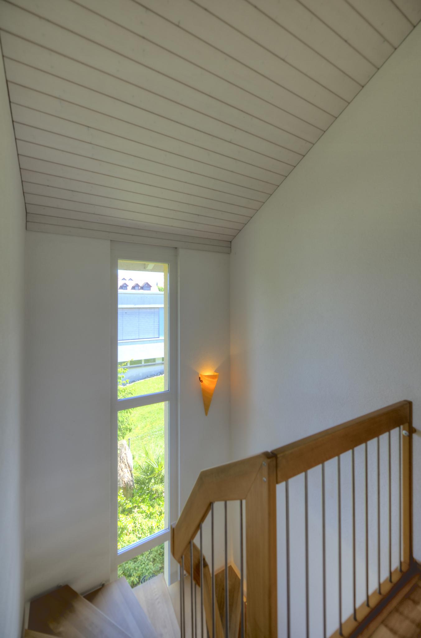 Treppenhaus im Obergeschoss