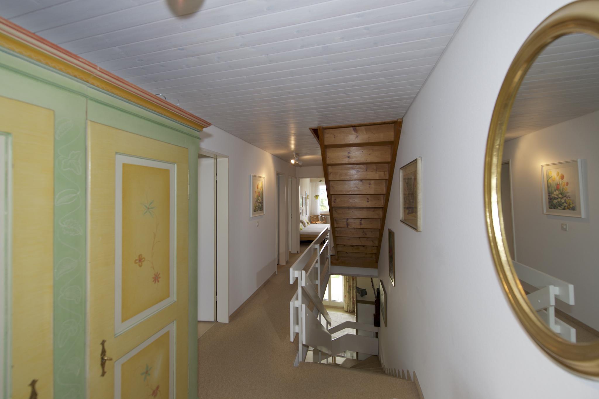 Gang und Vorplatz im Obergeschoss