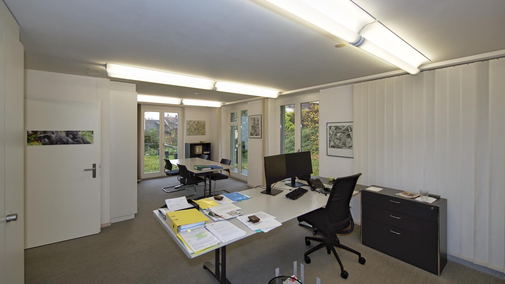 Aktuelle Nutzung als Büroräume