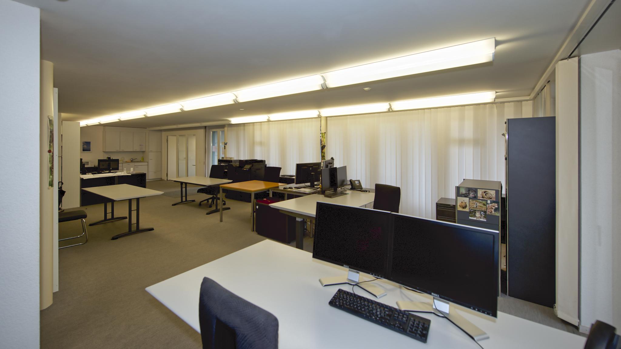 Aktuelle Büroräume