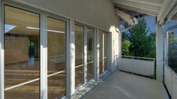 Der gedeckte Balkon