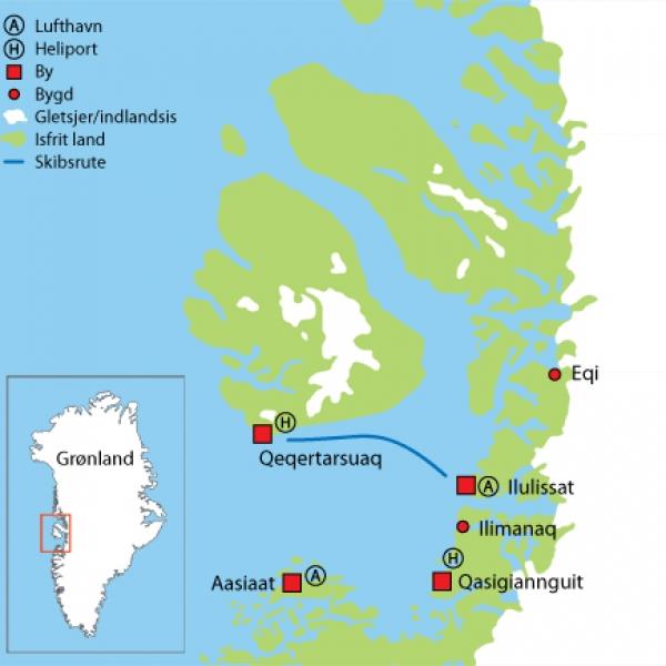 Travel to Qeqertarsuaq