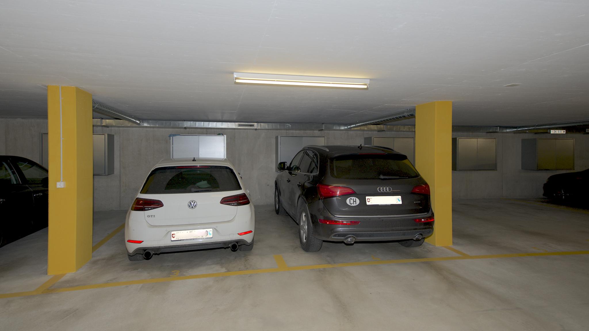 2. Garagenplatz rechts
