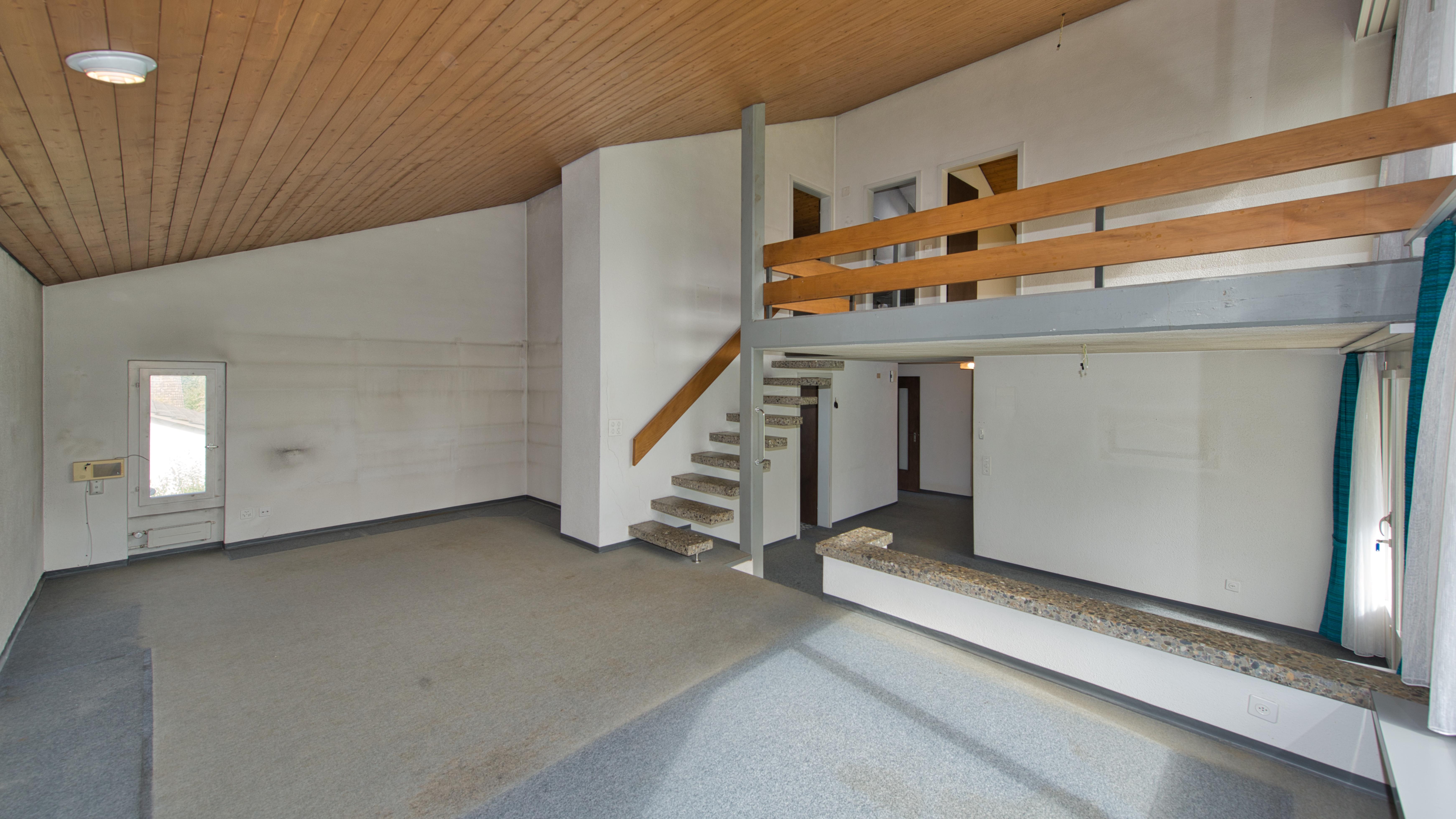 Der offene und helle Wohnbereich