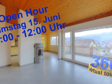 """""""open hour"""" in Freienstein, Samstag, 15. Juni 11:00 - 12:00 Uhr"""