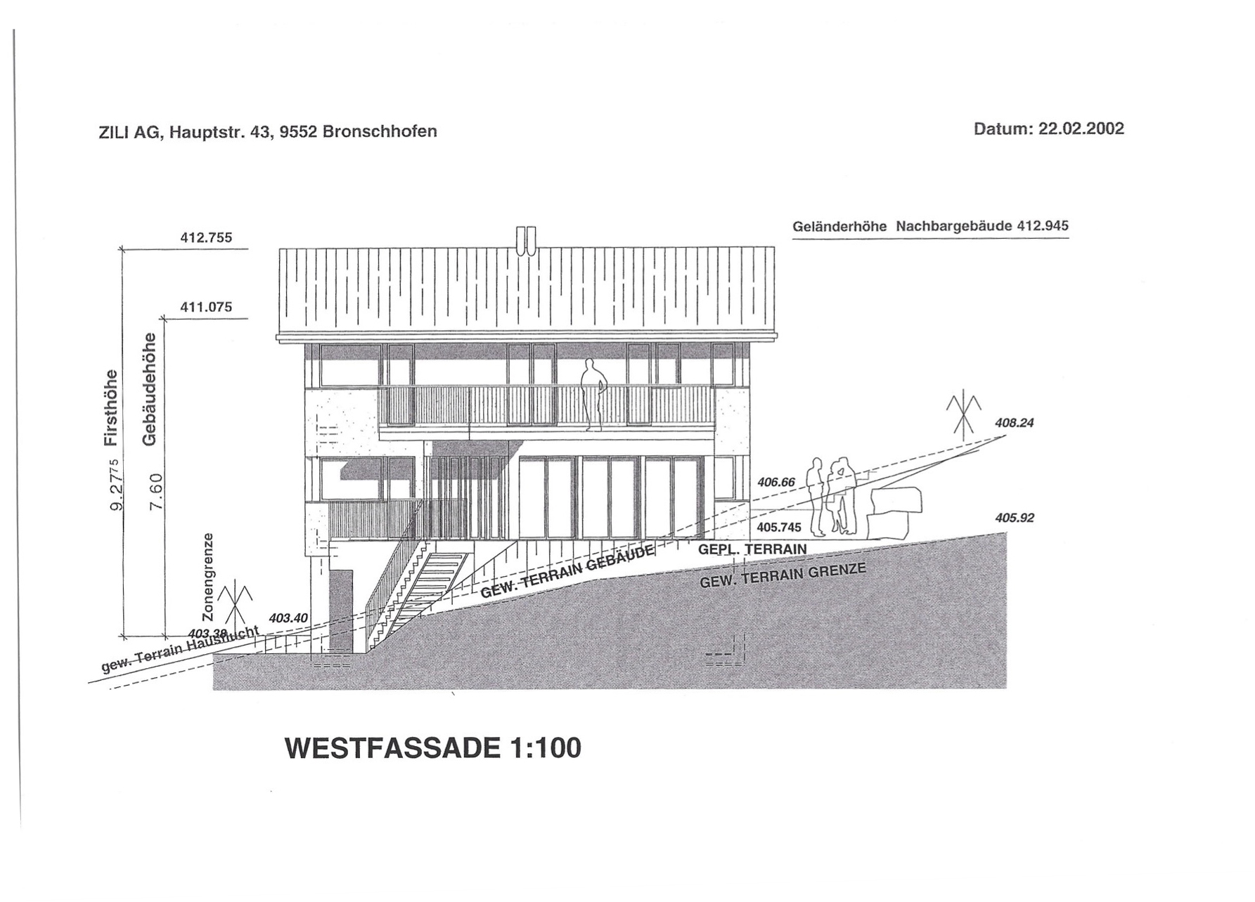 West-Fassade