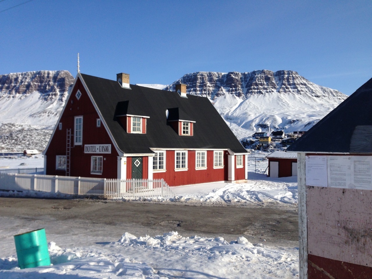 Hotel Disko in Qerqertarsuaq