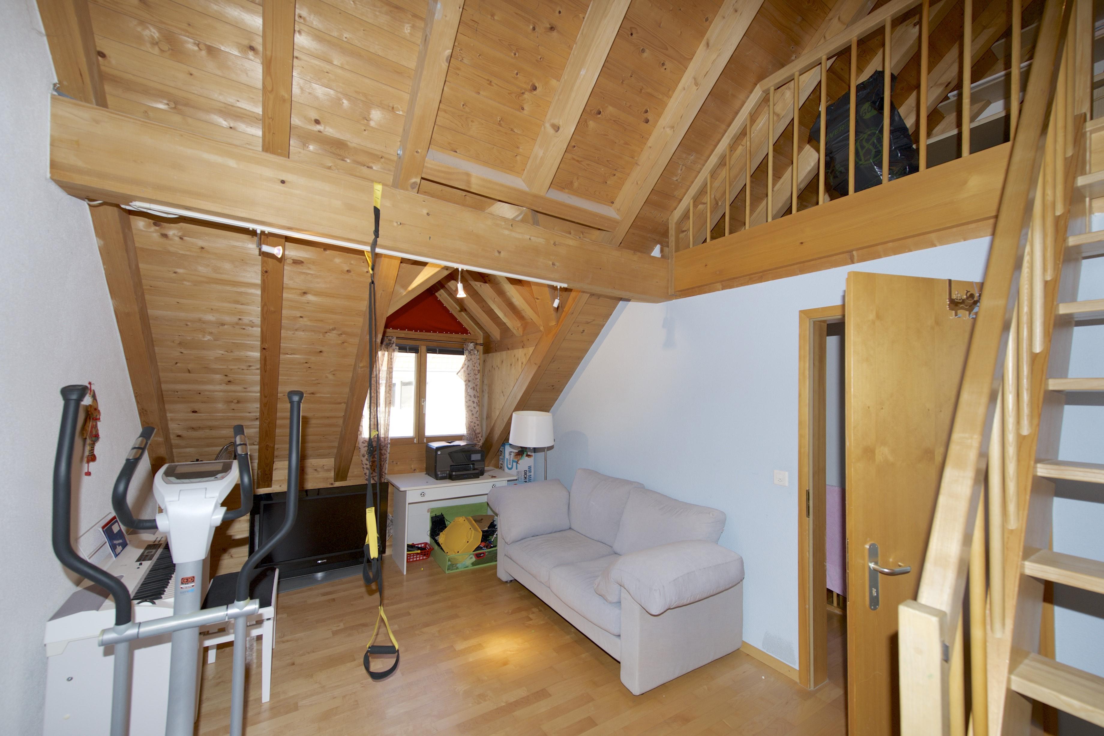 Maisonette-Zimmer im Dachgeschoss