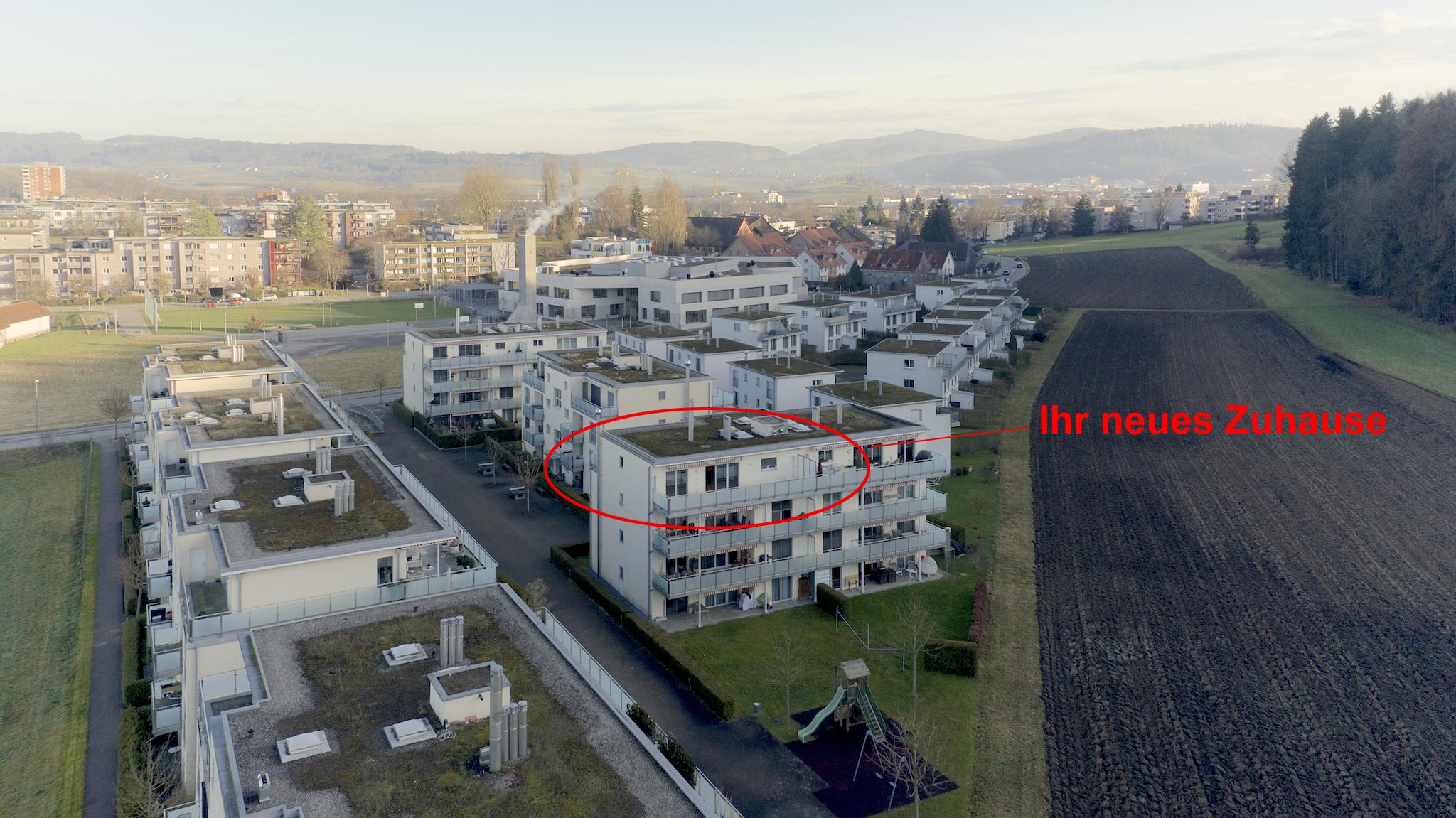 Das Mehrfamilienhaus am Stadtrand