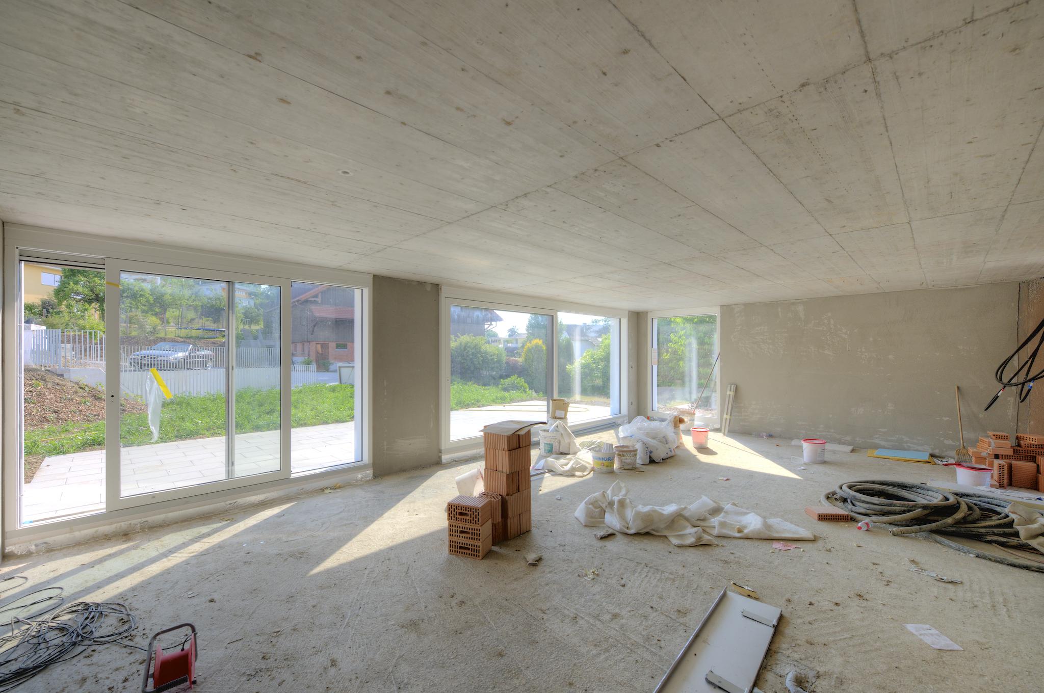 Das zukünftige Wohnzimmer