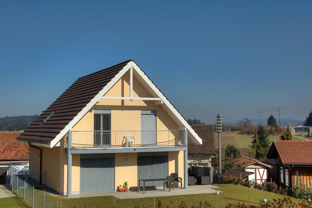 Referenzhaus mit individuellen Ausbauwünschen