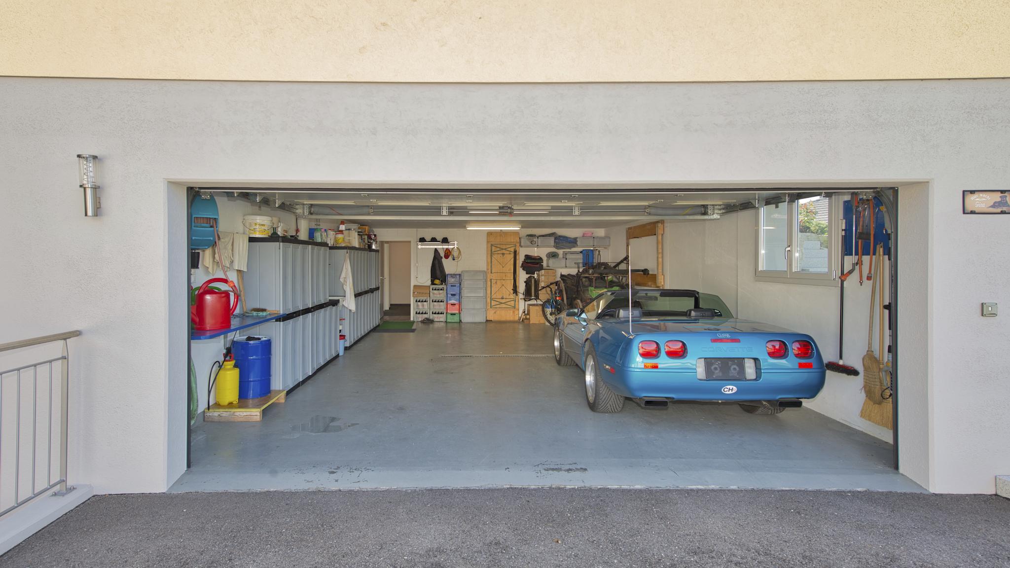 Zweite Garage