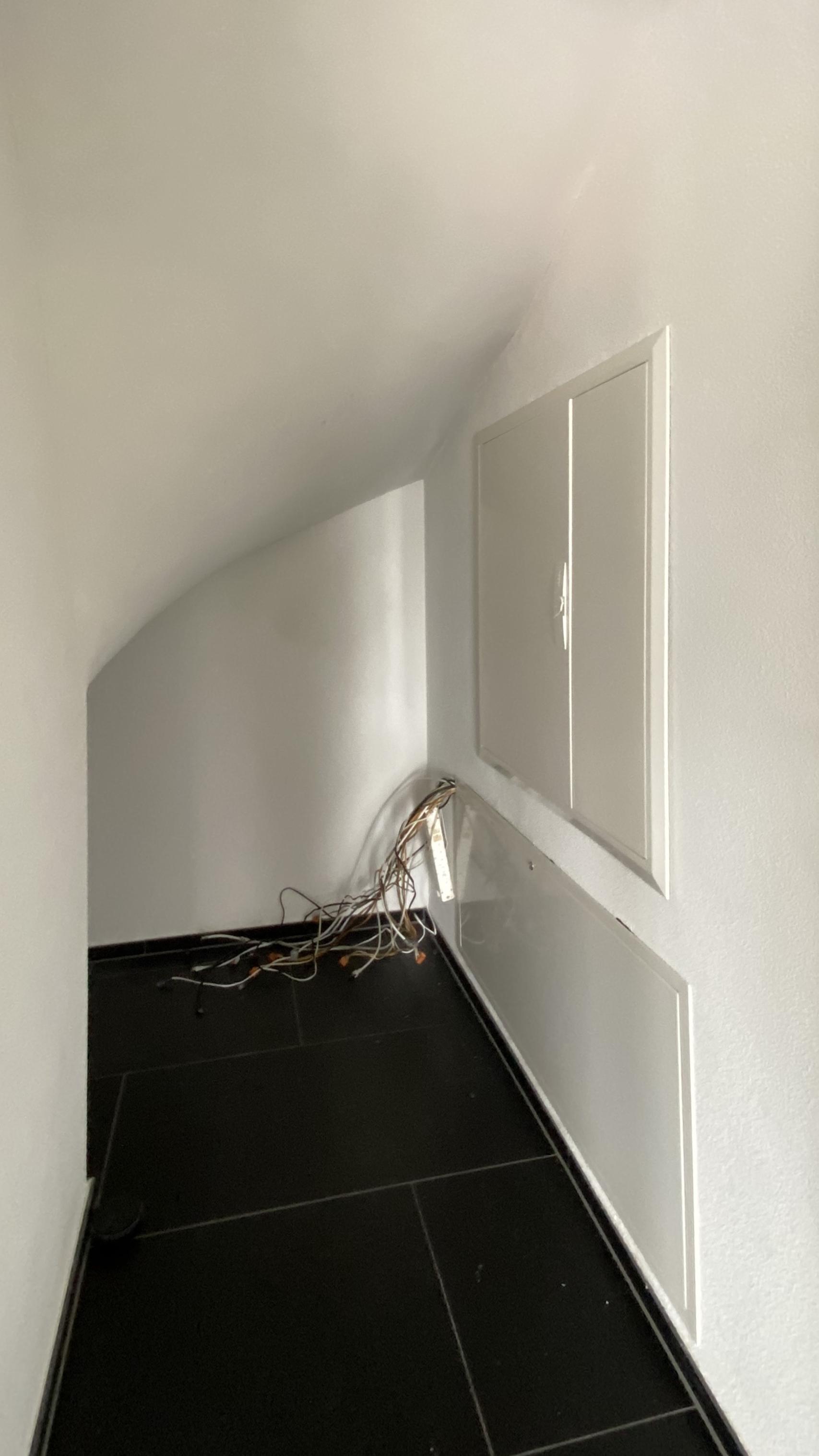 Raum unter der Treppe