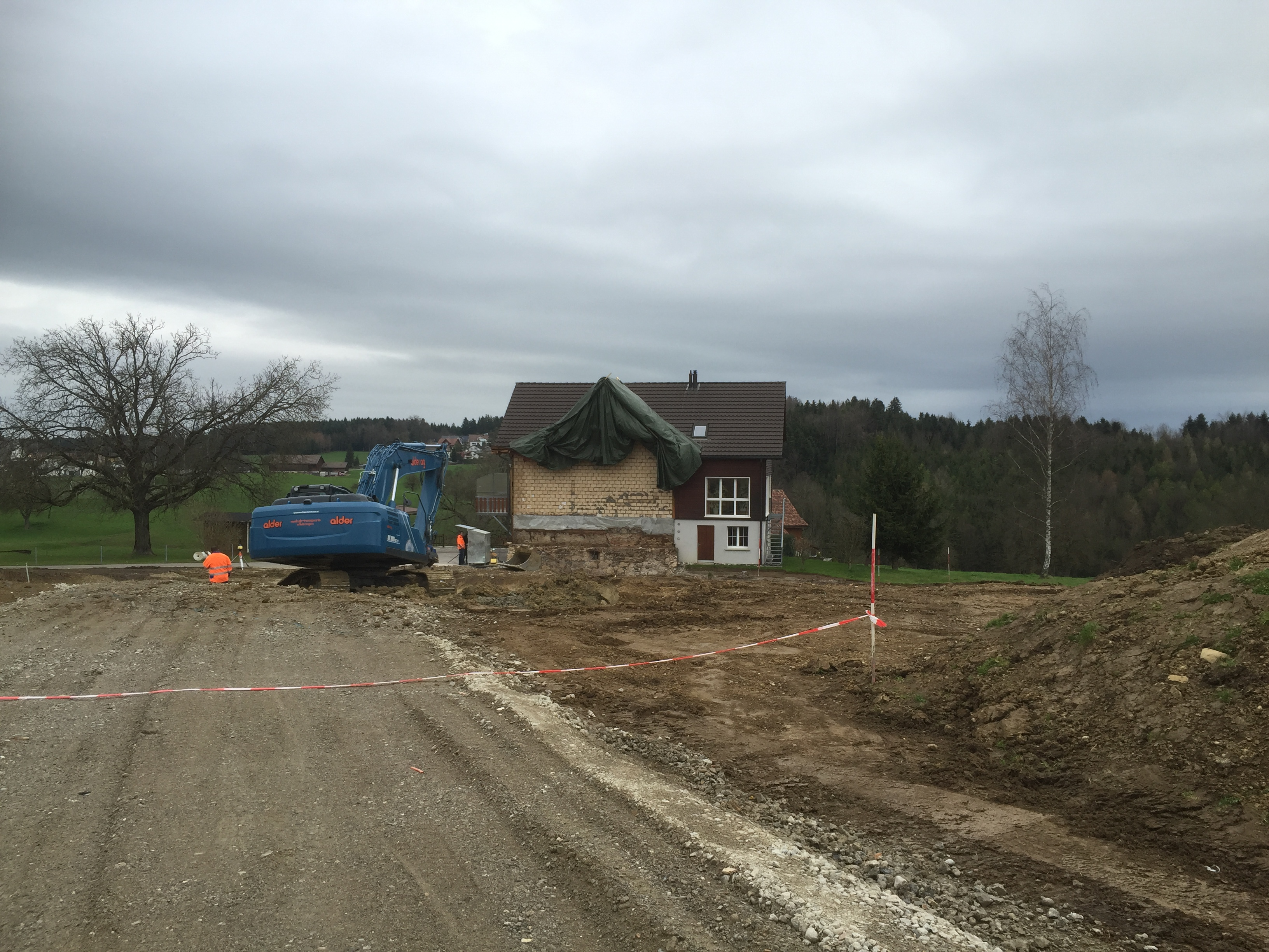 Baustellenerschliessung