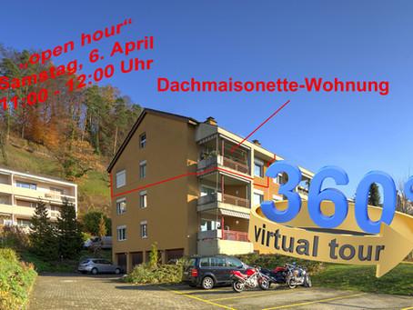 """""""open hour"""" nach Preis-Schnitt in Freienstein, Samstag, 6. April 11:00 - 12:00 Uhr"""