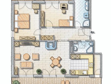 3 ½-Zimmer Attika-Wohnung in Oberi