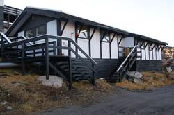 Das Bürogebäude
